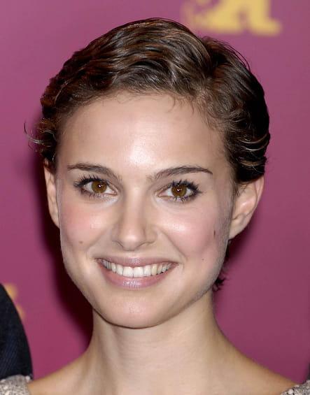 Natalie Portman avec la coupe courte