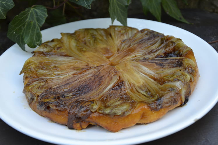Recette tatin aux endives tarte sal e - Recette tarte salee originale ...