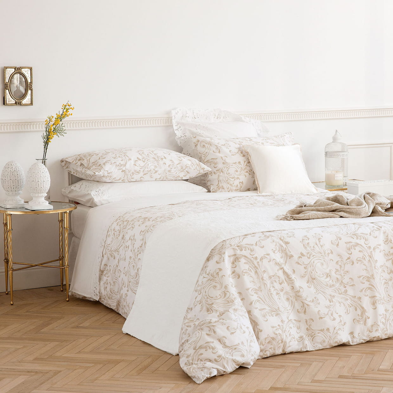La parure de lit romantique - Parure de lit zara home ...