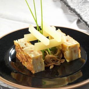 tortilla à l'ossau-iraty de vincent poussard