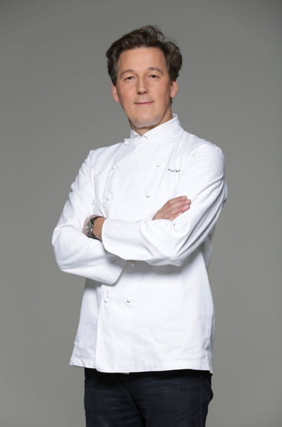 pierre marcolini, chef chocolatier et champion du monde de pâtisserie en 1995.