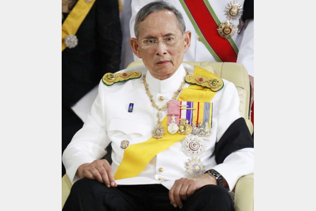 Le roi Bhumibol de Thäiande