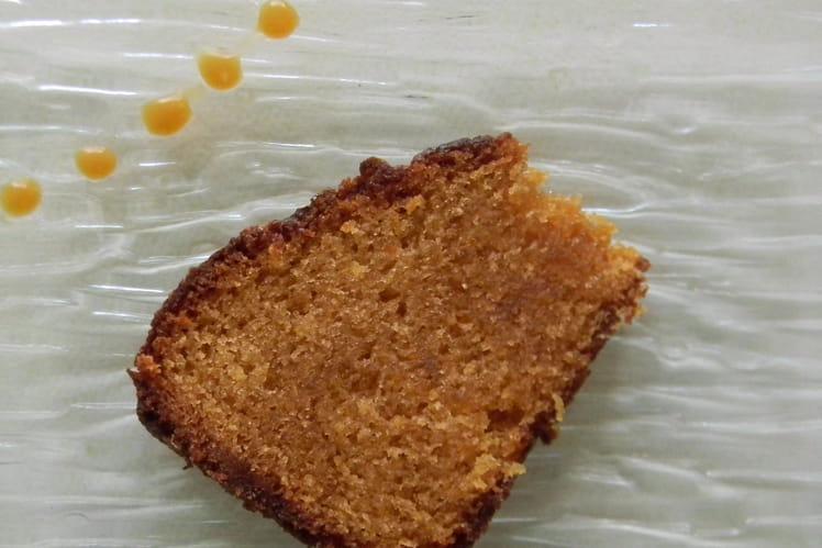 Gâteau au yaourt caramel au beurre salé