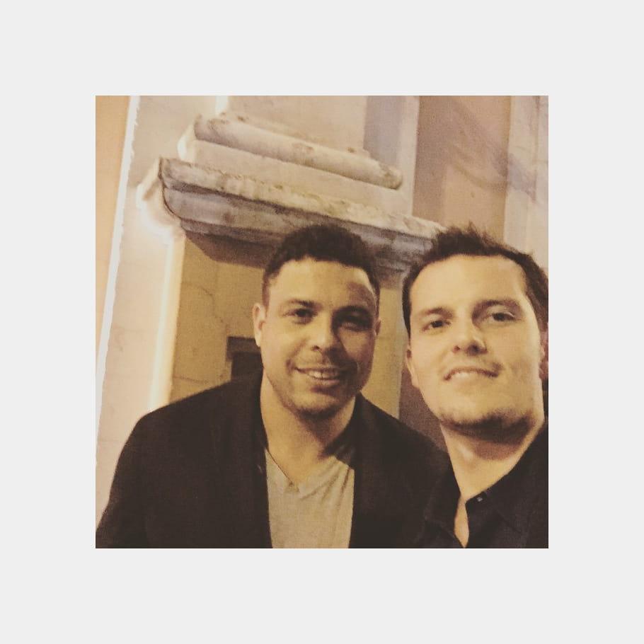 Juan Arbelaez, son selfie avec Ronaldo