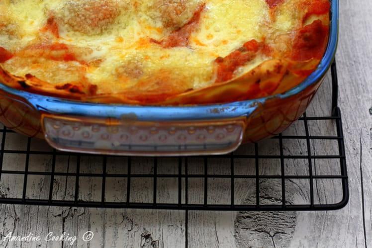 Lasagnes à la bolognaise authentiques