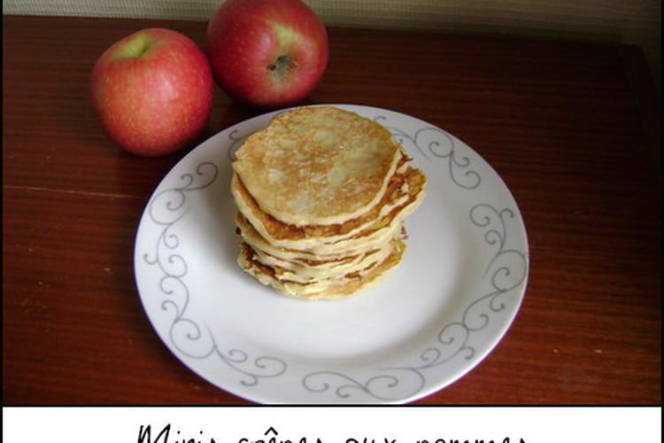 Mini crêpes aux pommes