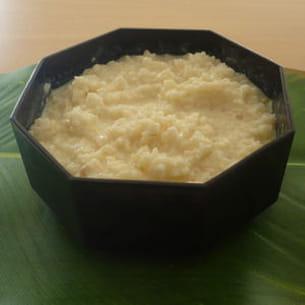 riz au lait pour machine à pain