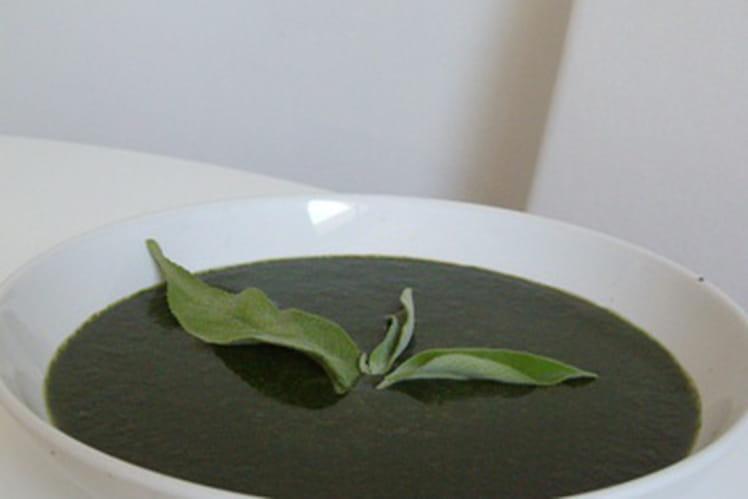 Soupe qui pique (aux orties)