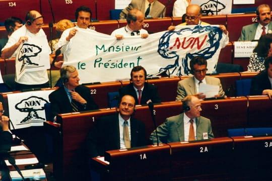 Jacques Chirac : essais nucléaires