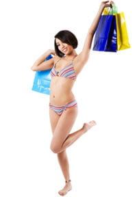 vous avez choisi et payé vos vacances ? récompensez-vous avec un peu de shopping