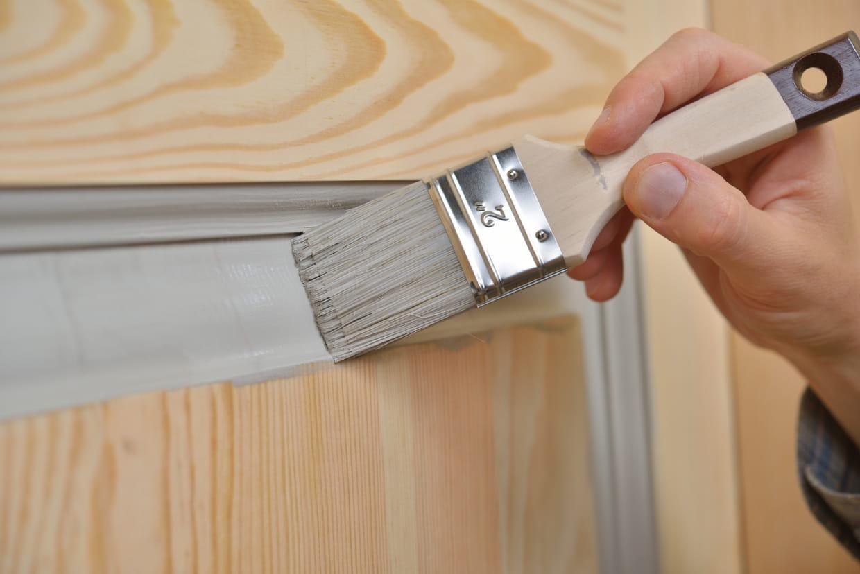 Peindre Les Angles Sans Déborder comment peindre une porte ?