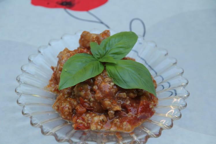 Ma sauce tomate d'été