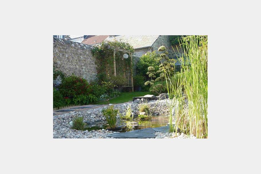 Halte sous la tonnelle ambiance zen dans le jardin for Le jardin normand