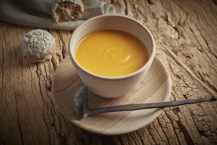 Soupe au potiron & éclats de châtaignes de Guy Krenzer