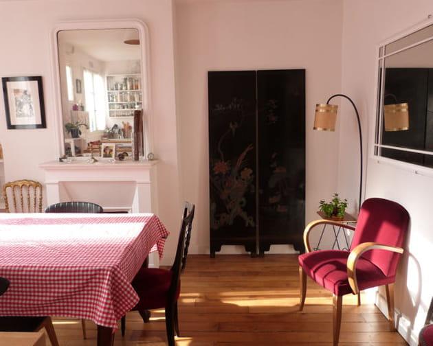 une salle manger zen. Black Bedroom Furniture Sets. Home Design Ideas