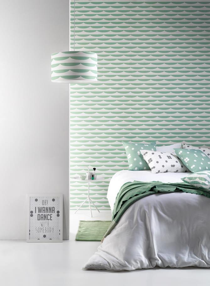 ... aquatique : Quel papier peint pour ma chambre ? - Journal des Femmes