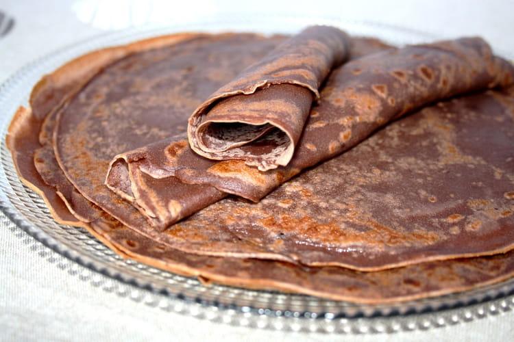 Crêpes chocolatées