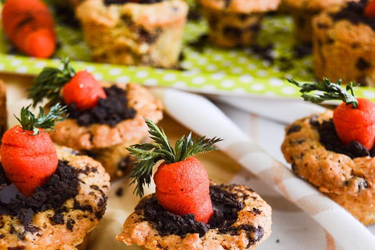 Cookies cup en trompe l'oeil pour Pâques