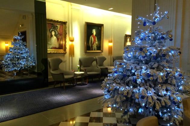 Le sapin de Noël de l'Hôtel de Sers