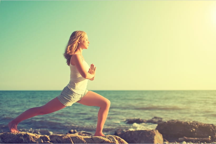 J'ai testé un cours de yoga en ligne