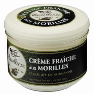 crème fraîche au morilles
