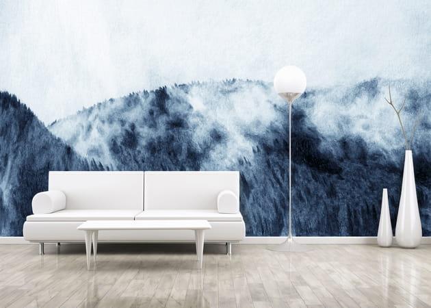 Décor panoramique Estompe par Myfresko