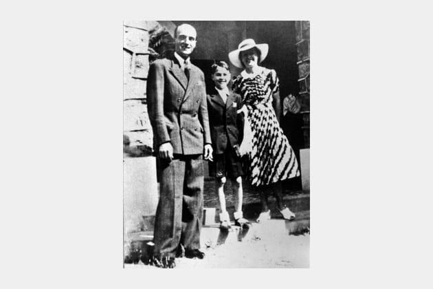 Jacque Chirac : père et mère