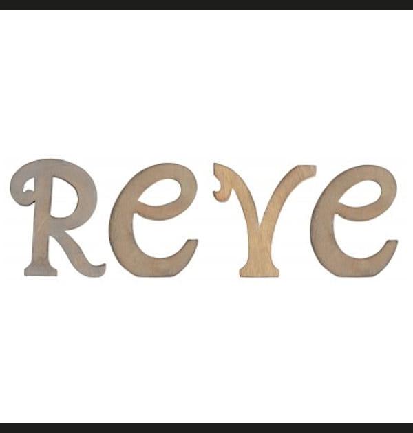 Lettres décoratives de Jardin d'Ulysse