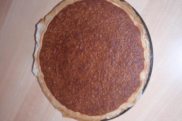 Gâteau noisette-confiture