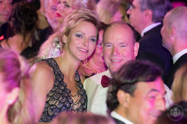 Charlene et Albert de Monaco au 70e Gala de la Croix Rouge