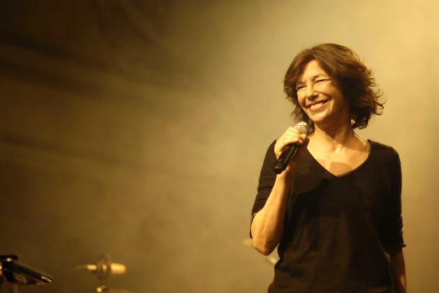 Jane Birkin lors de sa tournée mondiale en 2008