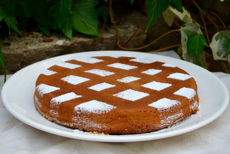 Gâteau fondant aux marrons