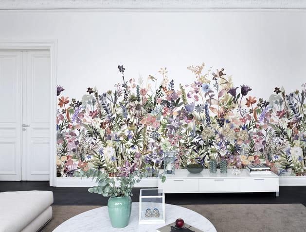 Papier peint May Meadow pastel par Rebel Walls
