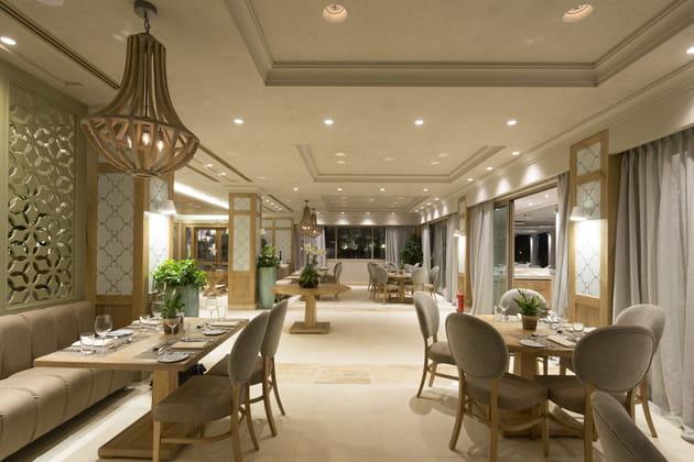 Provence, le restaurant français de l'hôtel Ikos Oceania