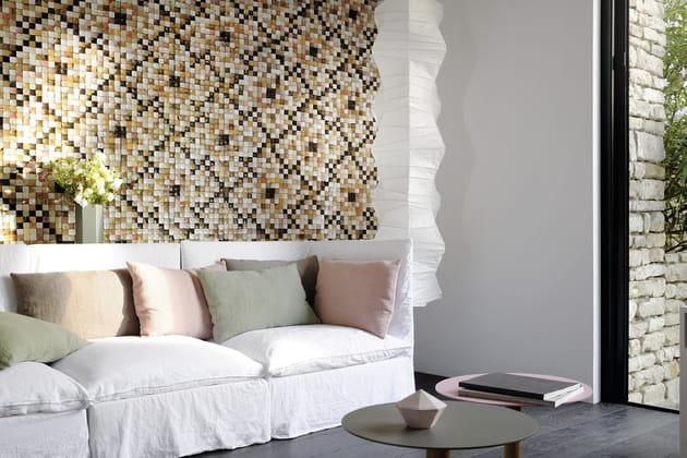 Revêtement mural Coco Shells par Élitis