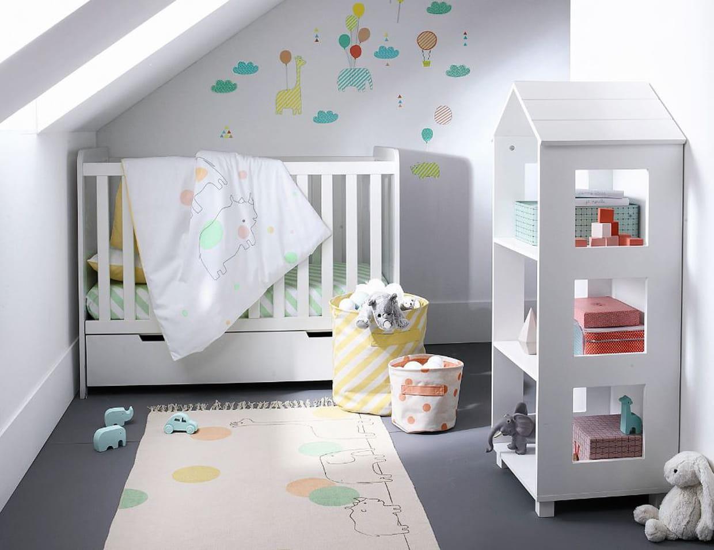 Chambre de a zoo par vertbaudet for Chambre 9 5m2