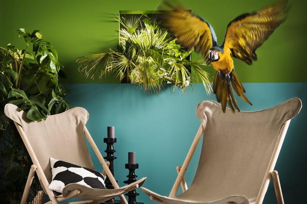 Fauteuils en hêtre et tissu Tillfälle par IKEA