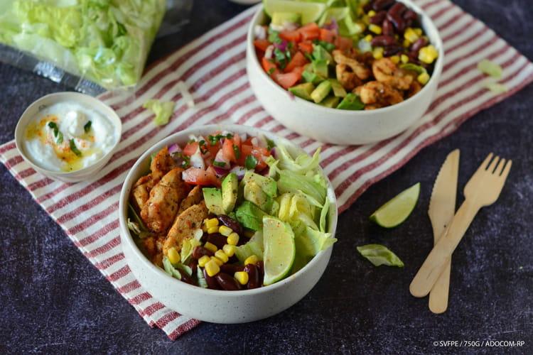 Salade bowl à la mexicaine