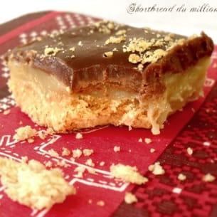 shortbread du millionnaire (ou twix maison)