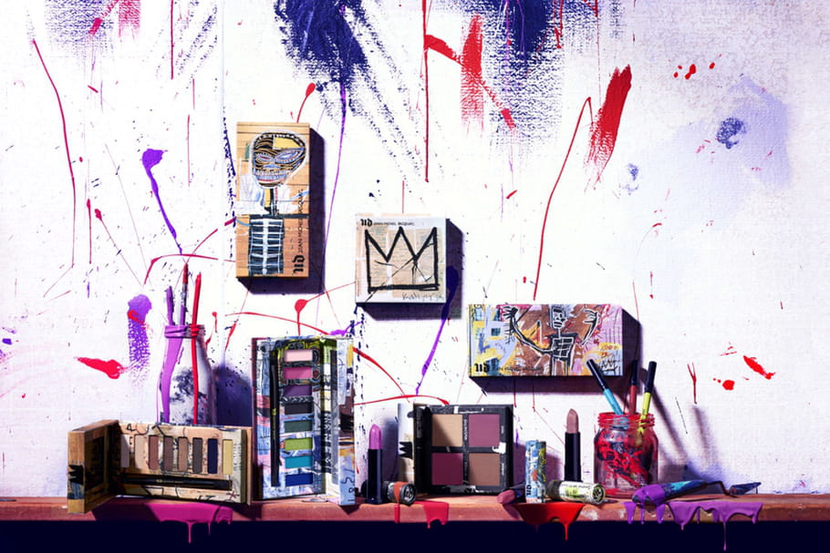 Urban Decay x Jean-Michel Basquiat : une collab' make-up artistique