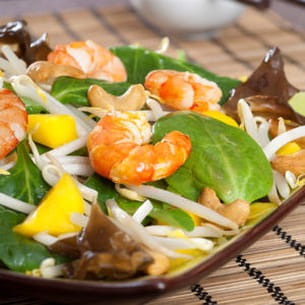 salade asiatique relevée