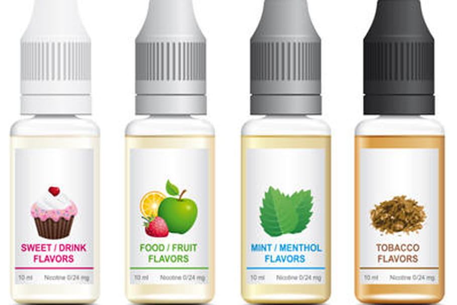 Cigarette électronique : risque d'empoisonnement avec le e-liquide