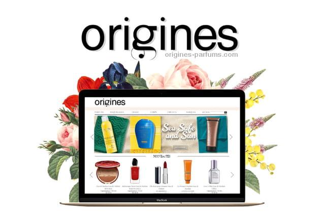 En images, un vanity glamour à moins de 35euros sur Origines Parfums