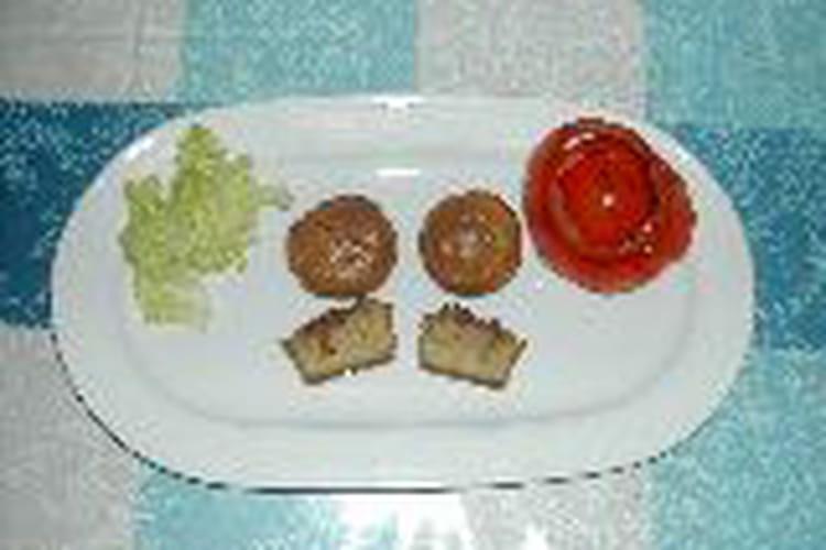 Petites bouchées au foie gras