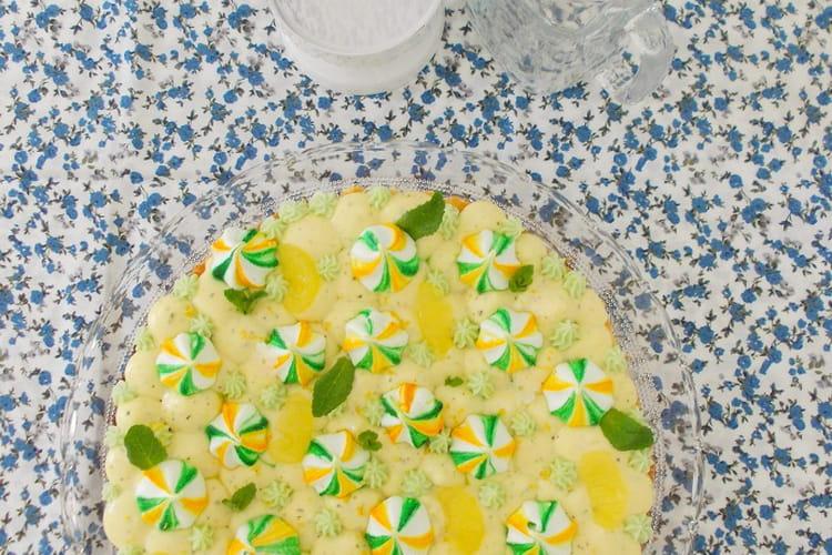 Tarte citron menthe façon Fantastik