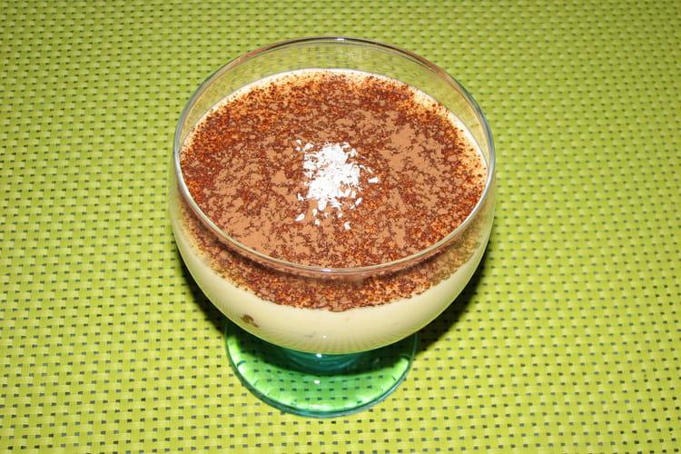 Délice banane, chocolat et noix de coco