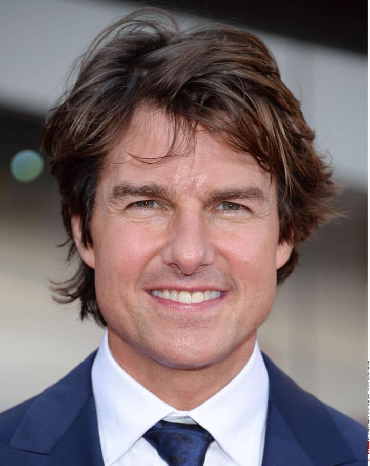 Tom Cruise sans barbe