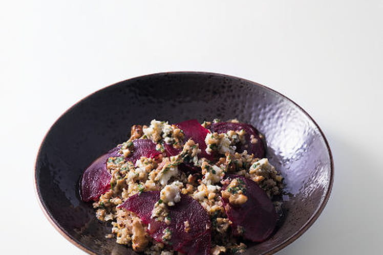 Salade quinoa rock