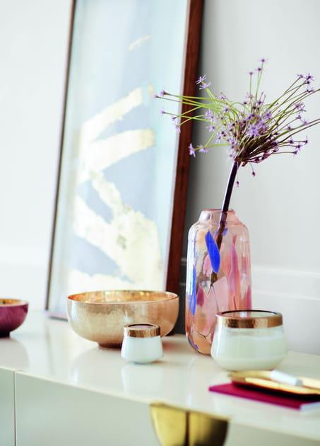Vase et bougie Anthropologie
