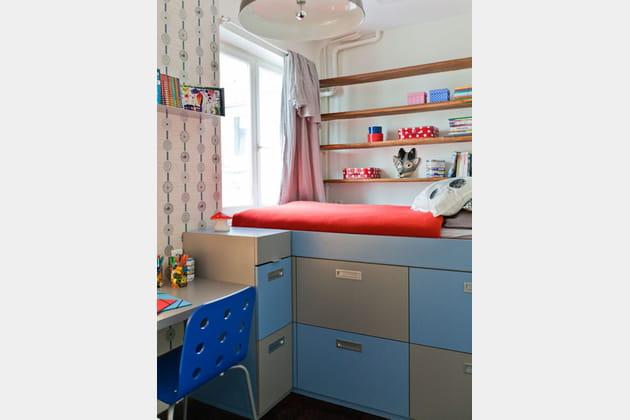 Mini chambre, maxi rangement